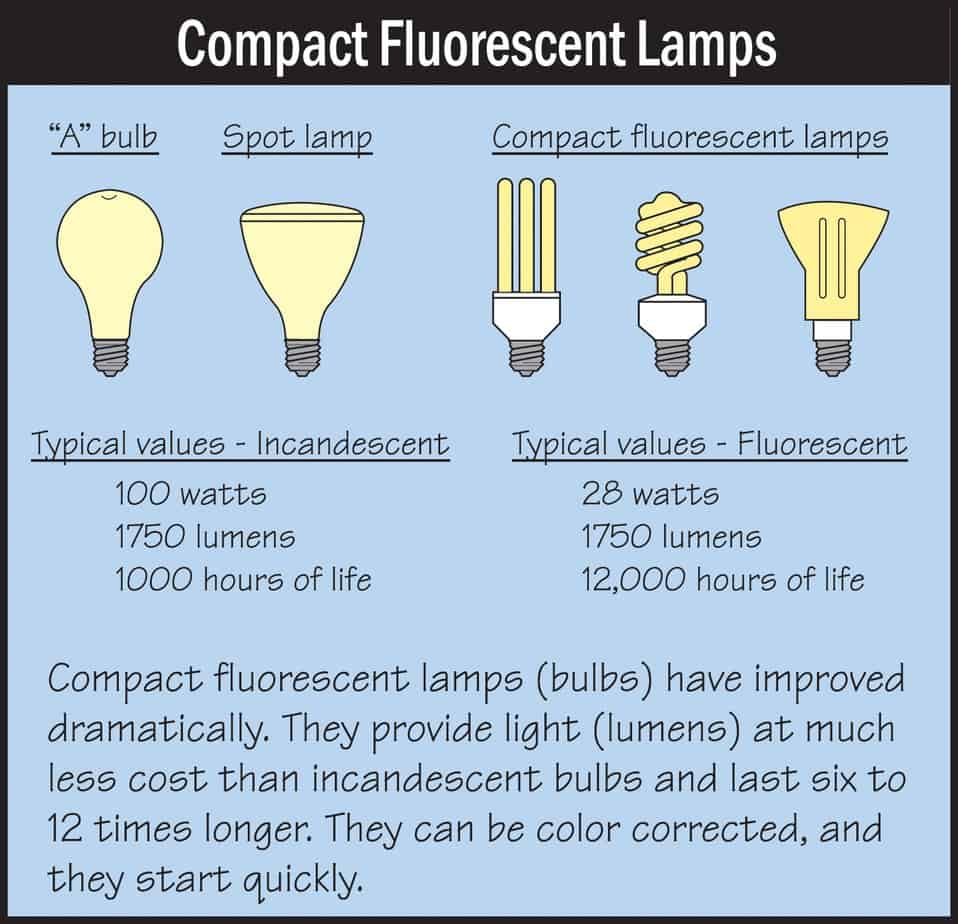 Compact Fluorescents Diagram