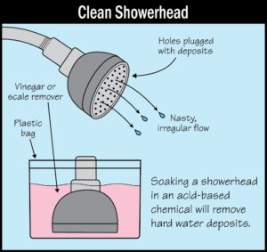 Repair A Whistling Shower Head