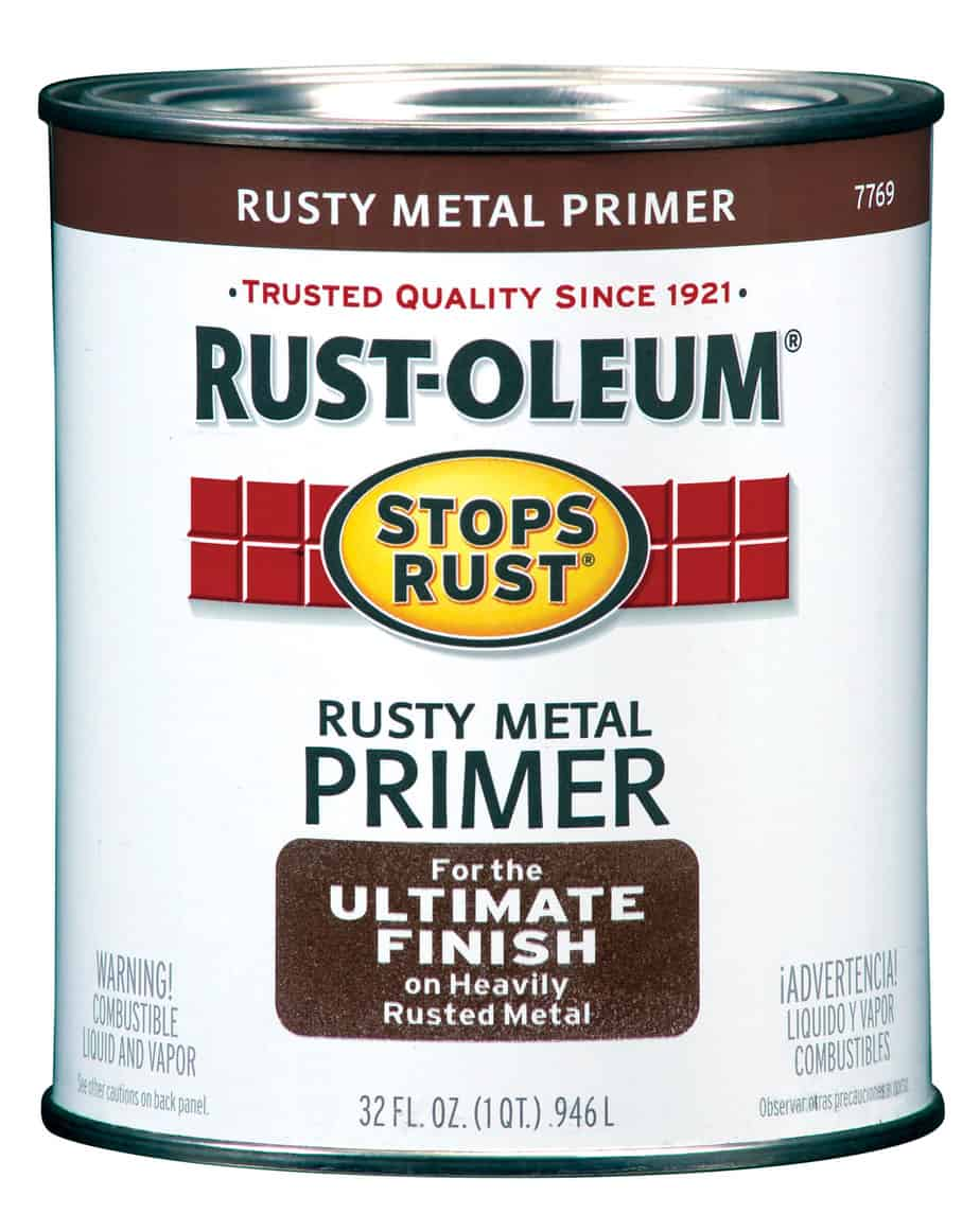 rusty metal primer photo