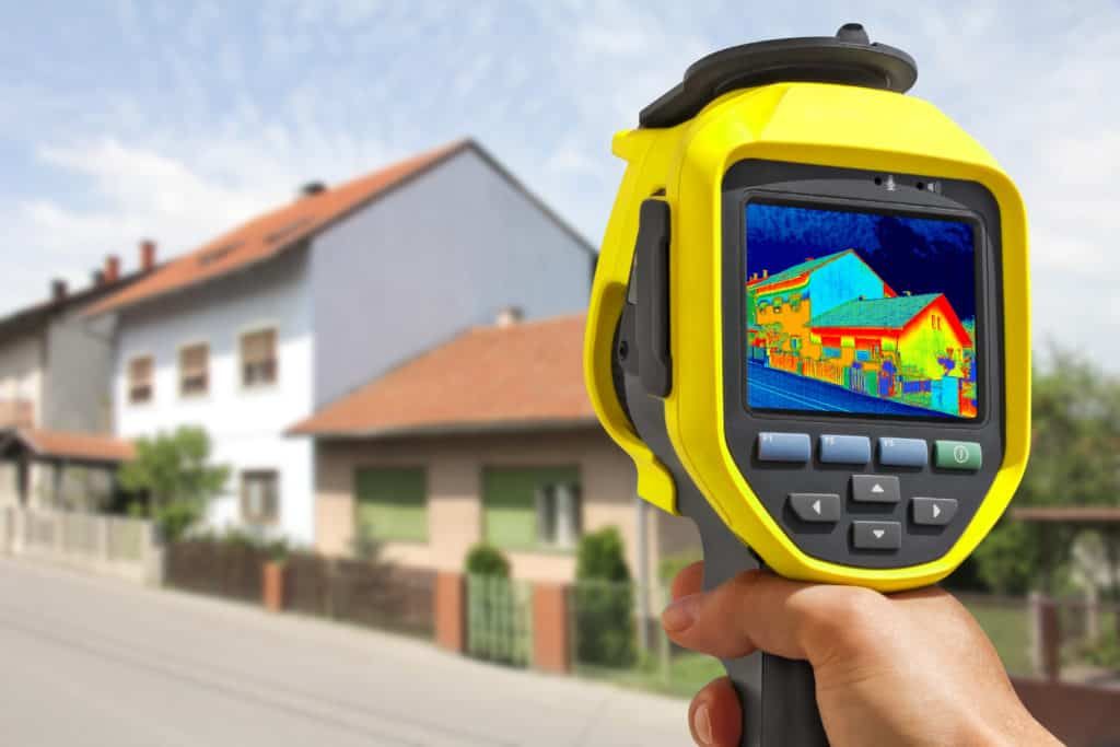 Thermal Imaging at Residential Property
