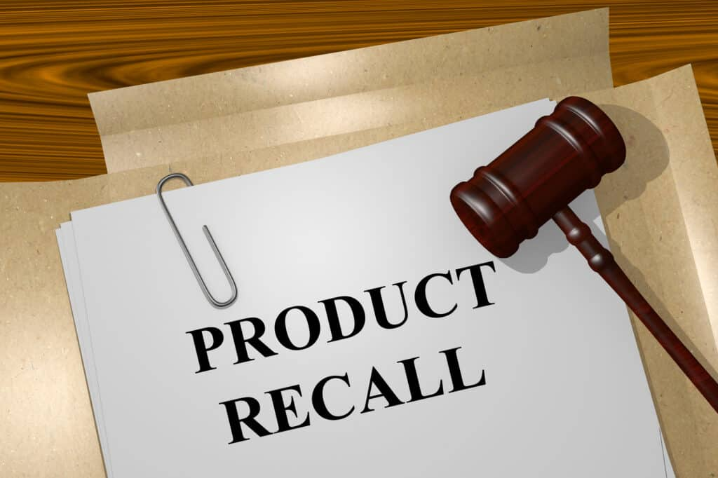 Product Recall Report