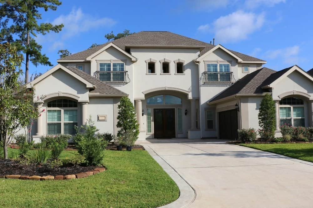 Synthetic Stucco Home